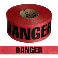 Reinforced Danger Barricade Tape