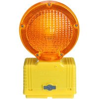 Circular Flashing Amber Light Cortina 03-10-3WAY6V