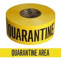 Quarantine Area Barricade Tape