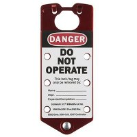 Lockout Safety Hasp