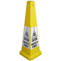 Caution Safety First Glow Cone