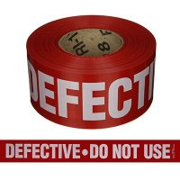 Quality Control Tapes - Defective Do Not Use
