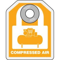 Lock-Out ID Tags - Compressed Air