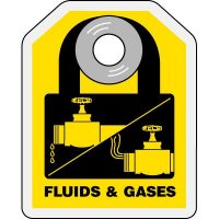 Lock-Out ID Tags - Fluids & Gases
