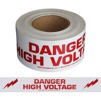 Danger High Voltage Message Tape Nadco 3X200-SAWT36
