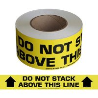 Do Not Stack Message Tape Nadco SAWT12