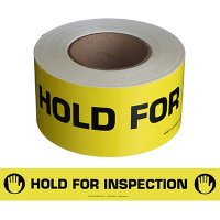 Hold For Inspection Message Tape Nadco SAWT13