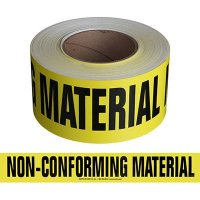 Non-Conforming Material Message Tape Nadco SAWT24