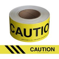 Caution Message Tape Nadco 3X200-SAWT3
