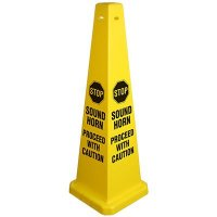 Proceed With Caution Safety Cone