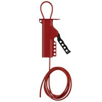 Brady 50943 All Purpose Cable Lockout With 8' Sheathed Cable