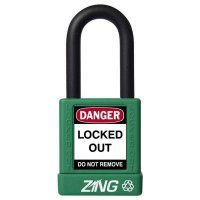 Zing® RecycLock Safety Padlock, Keyed Different