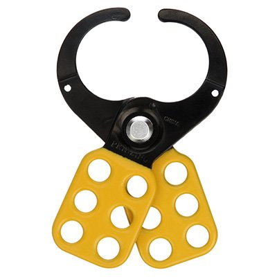 Brady 49255 1.5 Dia Jaw Yellow Lockout Hasp (T220)