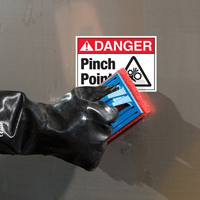 ToughWash® Labels - ANSI Danger