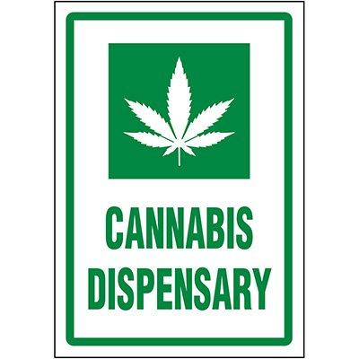 Cannabis Dispensary Label