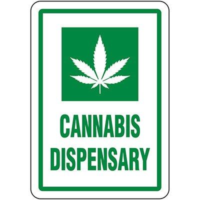 Cannabis Dispensary Signs