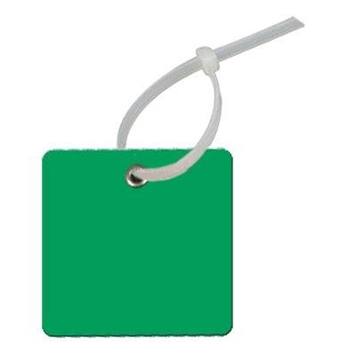 Write-On Square Plastic Tags