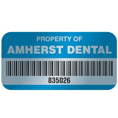 Custom Tamper Evident VOID Asset Labels