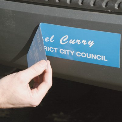 Custom Removable Bumper Stickers