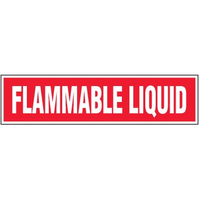 Chemical Labels - Flammable Liquid