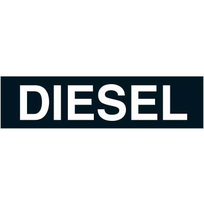 Chemical Labels - Diesel