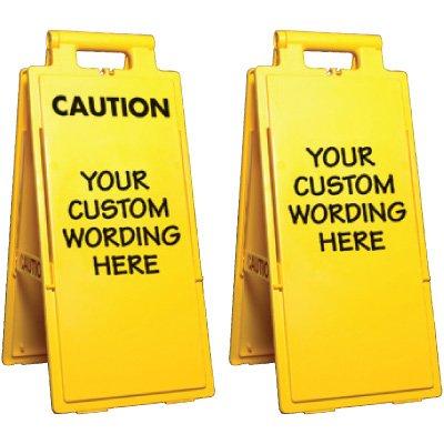 Custom-Worded 4-Way Floor Stand