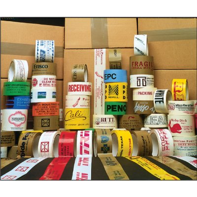 Custom-Worded Shipping Tape