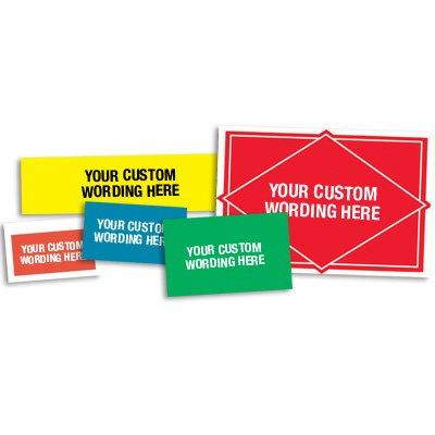 Custom Design Heavy-Duty Labels