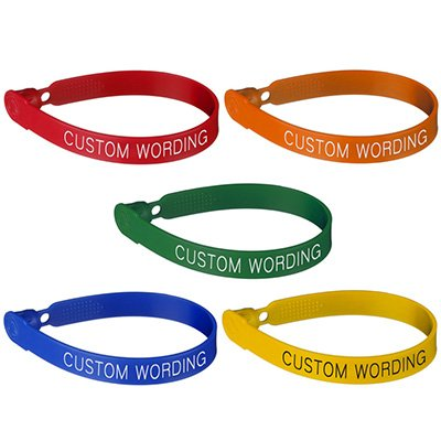 Custom Plastic Lock Seals