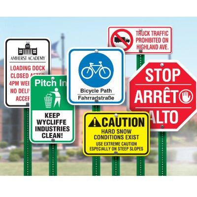 Custom Design Traffic & Parking Signs