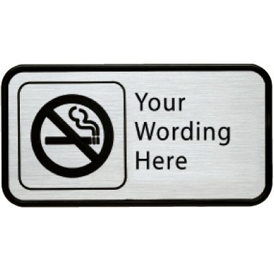 Deluxe No Smoking Signs