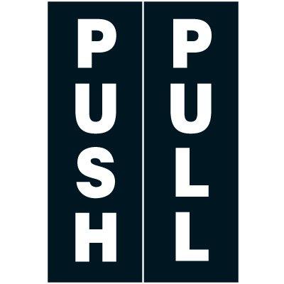 Push Pull Label