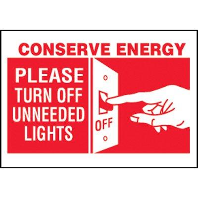 Conserve Energy Label