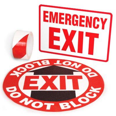 Exit Identification Kits - Emergency Exit