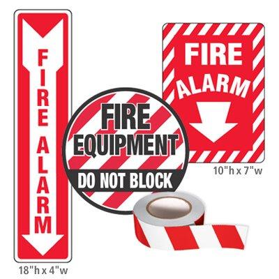Fire Equipment Identification Kits - Fire Alarm
