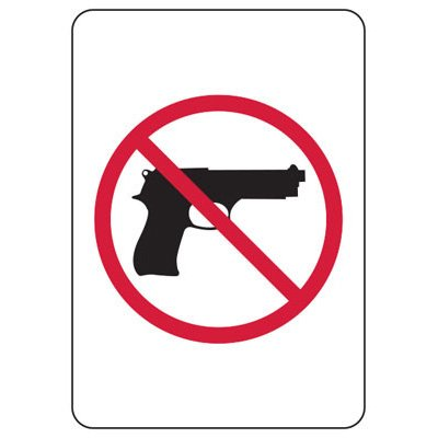 Kansas Firearm Signs - Graphic Only