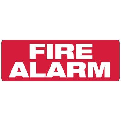 Fire Alarm - Fire Equipment Signs