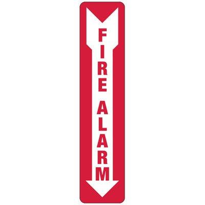 Slim-Line Fire Alarm Signs