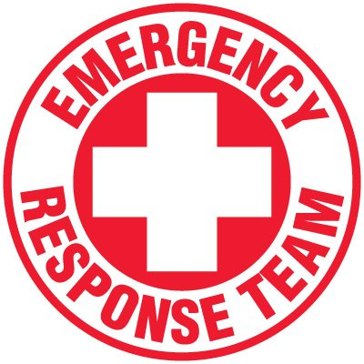 Safety Training Labels - Emergency Response Team