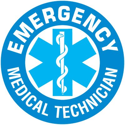 Safety Training Labels - Emergency Medical Technician