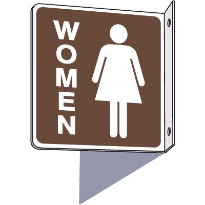 Women's 2-Way Restroom Sign