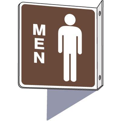 Men's 2-Way Restroom Sign