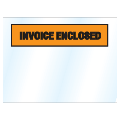 Invoice And Packing List Envelopes - Invoice Enclosed
