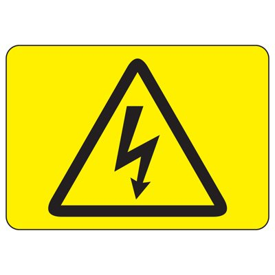 International Symbols Signs - High Voltage