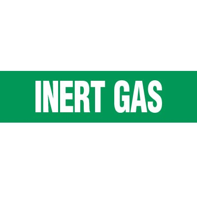 Inert Gas Pipe Markers