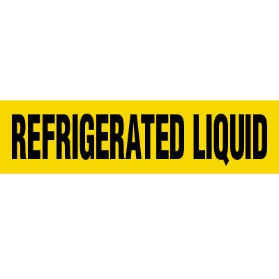 Refrigerated Liquid Pipe Markers