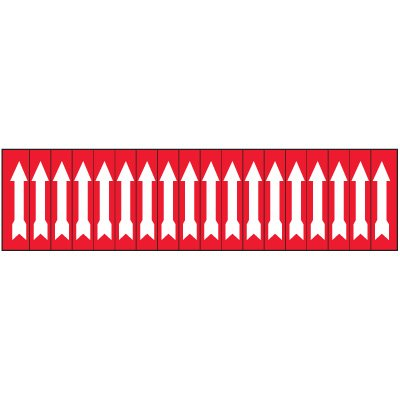 Machine Hazard Labels - Arrow Symbol