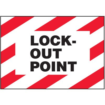 Lock Out Point Warning Markers