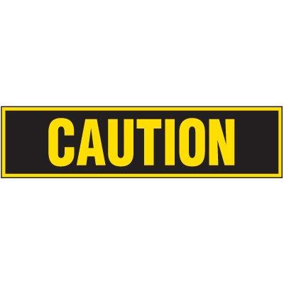 Machine Hazard Labels - Caution
