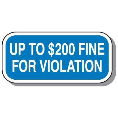 State-Specific Handicap Parking Signs - Minnesota